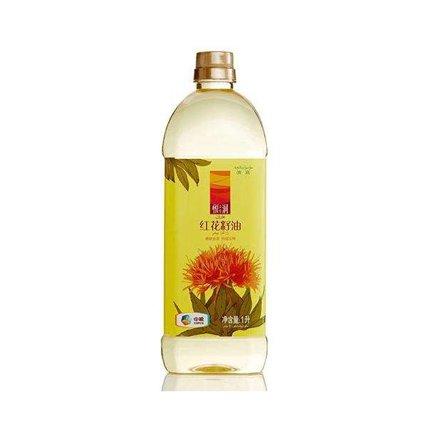中粮悦润纯红花籽油