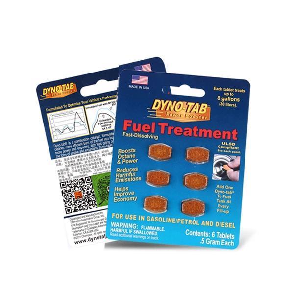 丹奴特燃油功率增力剂(2合1)(蓝卡)6片