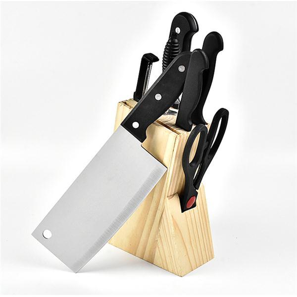 居易厨房刀具套装切菜刀水果刀剪刀八件套