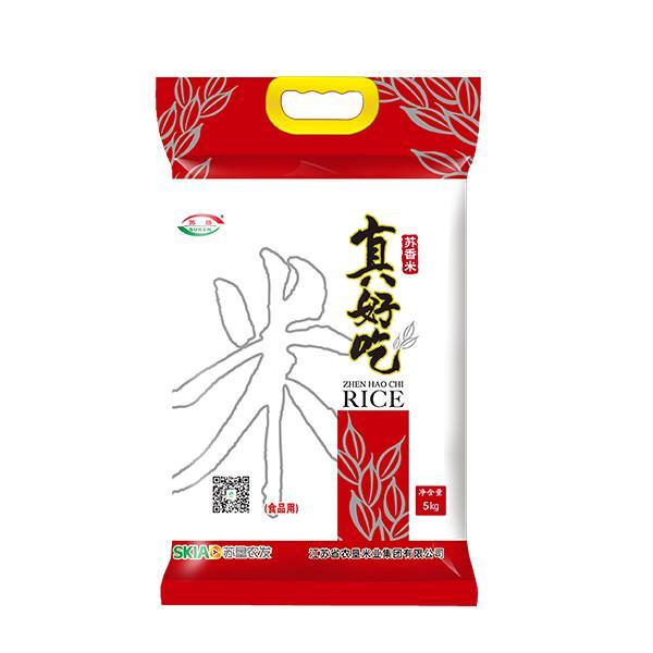 苏垦真好吃苏香米5KG袋装(白色)