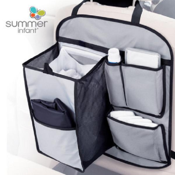 Summerinfant美国进口车载收纳袋旅行收纳盒带尿布垫