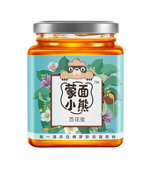 蒙面小熊百花蜜400g(百花蜜)