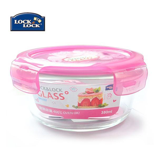 乐扣乐扣圆形玻璃密封盒LLG821-PKT-CHS
