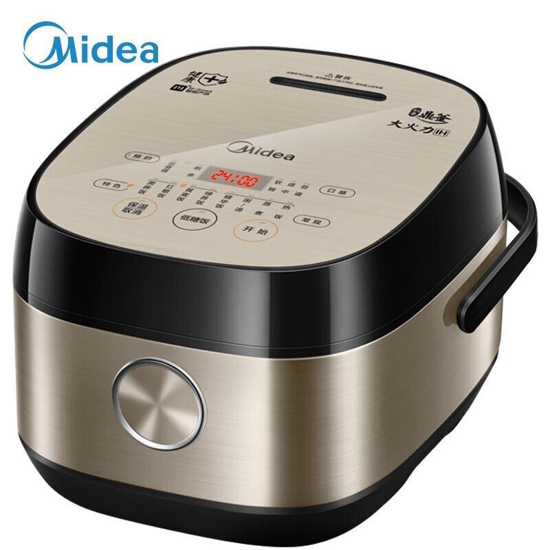 美的(Midea)电饭煲电饭锅4LMB-40LH5(钛金鼎釜)