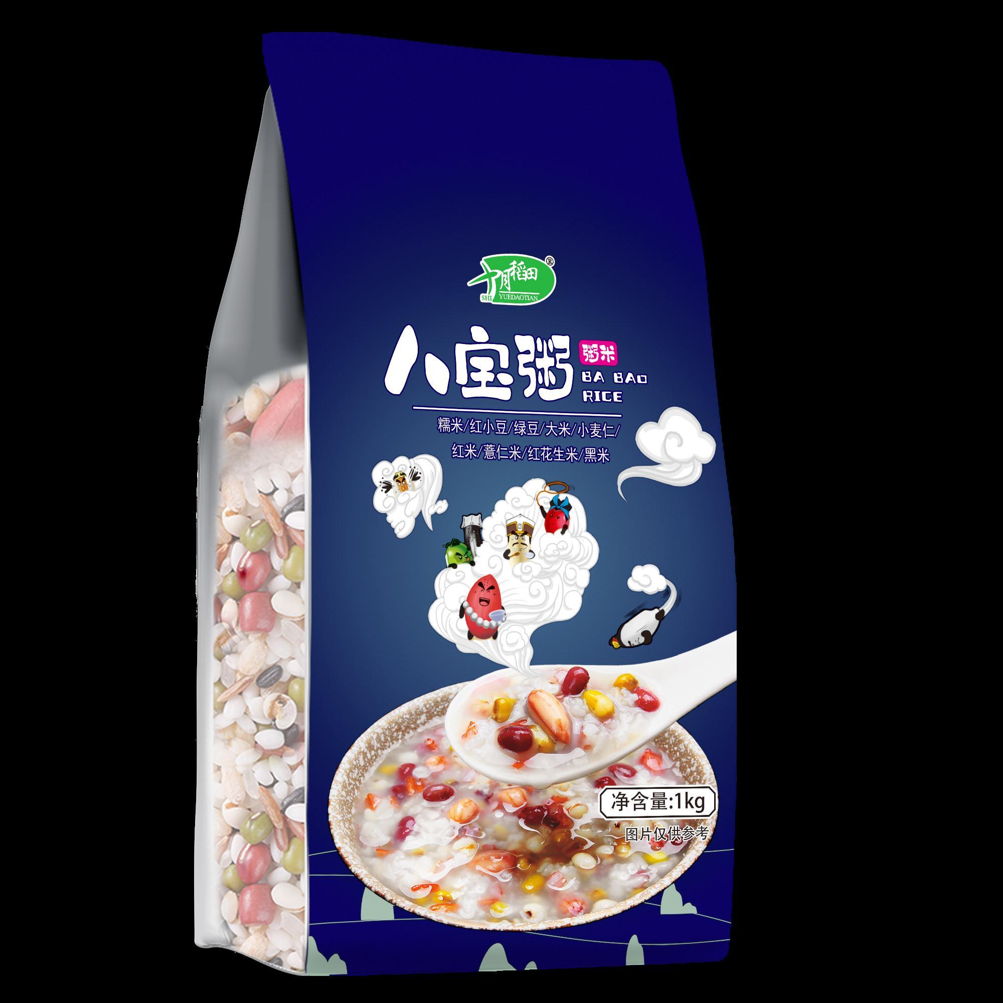 十月稻田 八宝米1kg