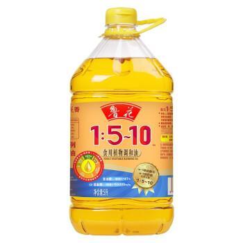 鲁花食用植物调和油1:5-10(5L)