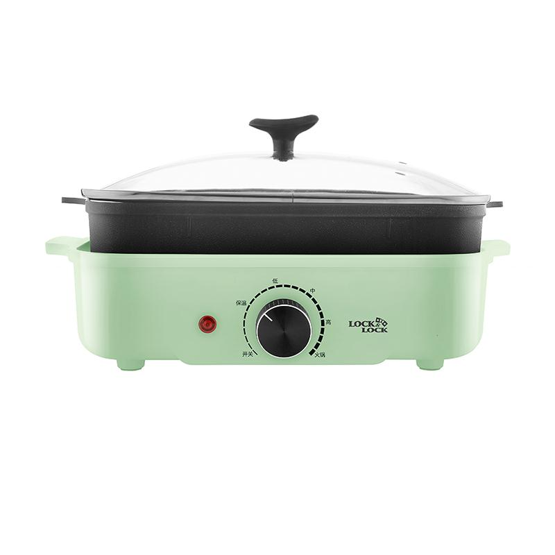乐扣乐扣多用料理锅(电烤炉)EJP537GRN